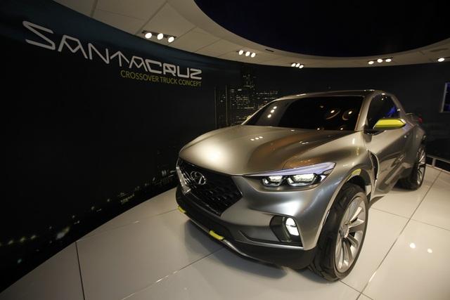 Bất ngờ lớn: Mẫu bán tải Santa Cruz của Hyundai sẽ dùng khung gầm rời - 5