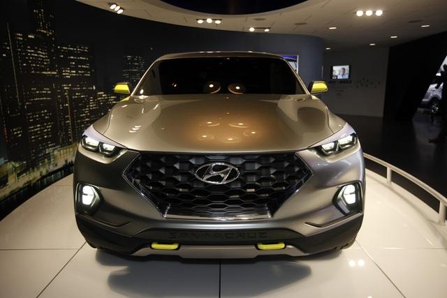 Hyundai chốt thời gian, địa điểm sản xuất xe bán tải Santa Cruz  - 2