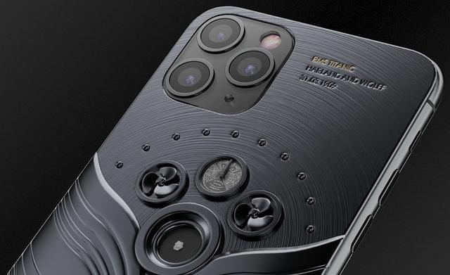 iPhone 11 Pro chế tác từ mảnh vỡ tàu Titanic và tàu vũ trụ, có giá... 809 triệu đồng - 3