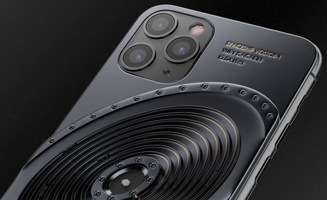 iPhone 11 Pro chế tác từ mảnh vỡ tàu Titanic và tàu vũ trụ, có giá... 809 triệu đồng - 5