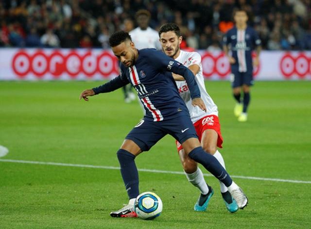 Neymar mờ nhạt, PSG bất ngờ thua sốc trước Reims ngay trên sân nhà
