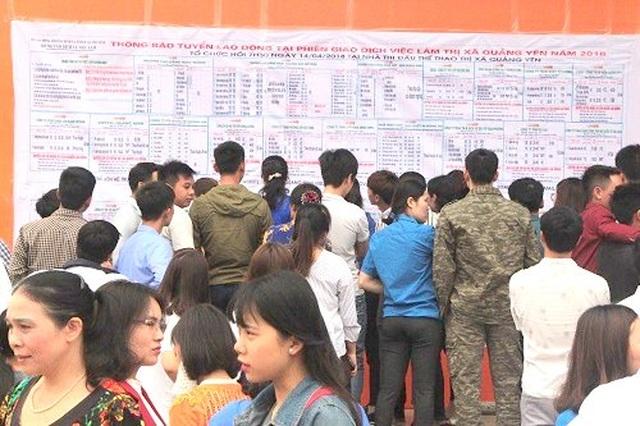 Quảng Ninh: 1.519 lao động thất nghiệp được giới thiệu việc làm - 2  Quảng Ninh: 1.519 lao động thất nghiệp được giới thiệu việc làm quang ninh 2 1569470405173