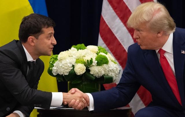 Nhà Trắng công bố cuộc gọi gây bão giữa ông Trump và Tổng thống Ukraine - 1