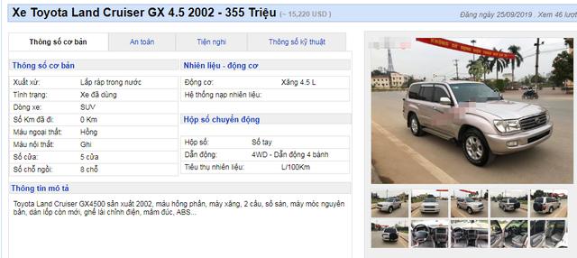 Xế sang Land Cruiser và BMW đời cũ về giá dưới 400 triệu đồng như xe cỏ - 2