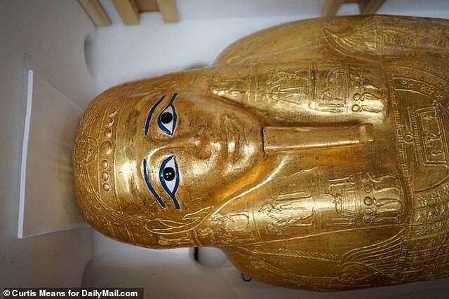 Quách vàng trị giá 4 triệu USD được trả lại cho Ai Cập sau khi bị đánh cắp - 2