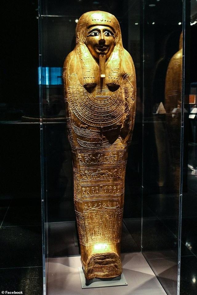 Quách vàng trị giá 4 triệu USD được trả lại cho Ai Cập sau khi bị đánh cắp - 3