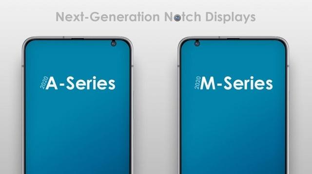 Samsung lộ màn hình giọt nước kiểu mới cho smartphone - 1