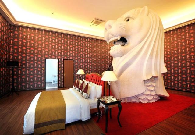 Hé lộ những điều bí mật ít biết về tượng sư tử biển nổi tiếng Singapore - 4