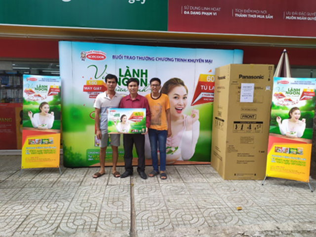 Cơ hội cuối trúng tủ lạnh, máy giặt khi ăn phở, bún, hủ tiếu Acecook Việt Nam - 1