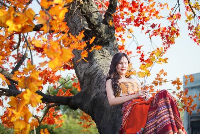 Ngỡ ngàng con đường lá đỏ lãng mạn tựa phim Hàn ở Hà Nội - 6