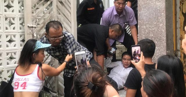 Vụ Phó chánh án bị tố bắt cóc trẻ em: Trục xuất nhóm người chiếm giữ nhà trái phép - 1