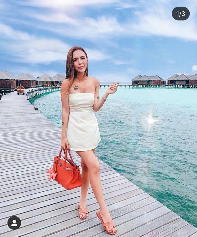 Cô gái xinh đẹp trong hội Rich Kids đón sinh nhật tại Maldives - 3