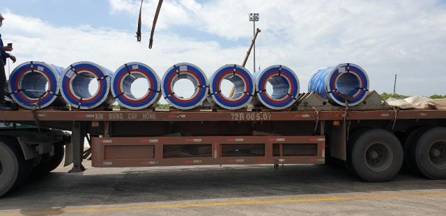 Tôn Pomina đã có lô hàng xuất khẩu đầu tiên ra thị trường quốc tế - 3