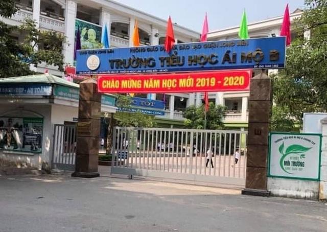 """Hà Nội: Hiệu trưởng trường Tiểu học Ái Mộ B bị giáo viên """"tố"""" hàng loạt sai phạm - 1"""