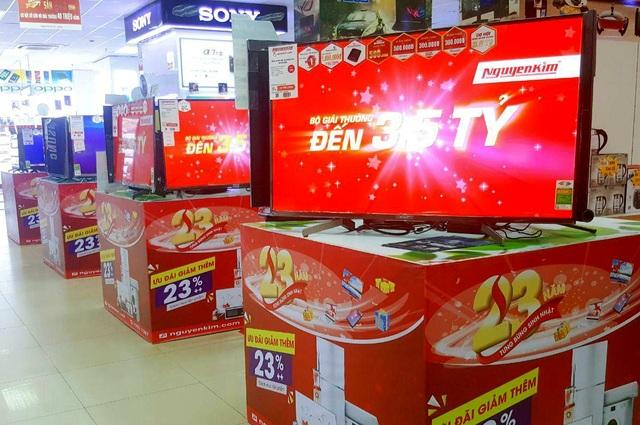 Tivi, tủ lạnh, máy giặt đồng giảm giá siêu hời tháng sinh nhật 23 tuổi Nguyễn Kim - 3