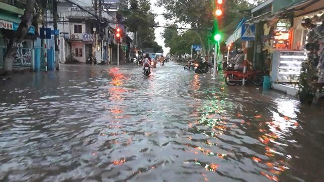Triều cường dâng cao, đường phố Cần Thơ, Vĩnh Long lênh láng nước - 4