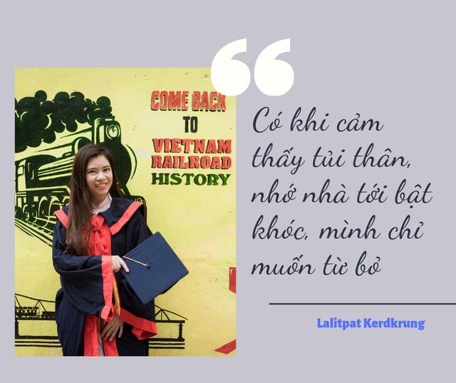 Thủ khoa Lalitpat Kerdkrung: Muốn trở thành đại sứ truyền bá văn hóa hai nước Việt Nam-Thái Lan - 3