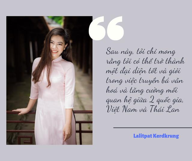 Thủ khoa Lalitpat Kerdkrung: Muốn trở thành đại sứ truyền bá văn hóa hai nước Việt Nam-Thái Lan - 4