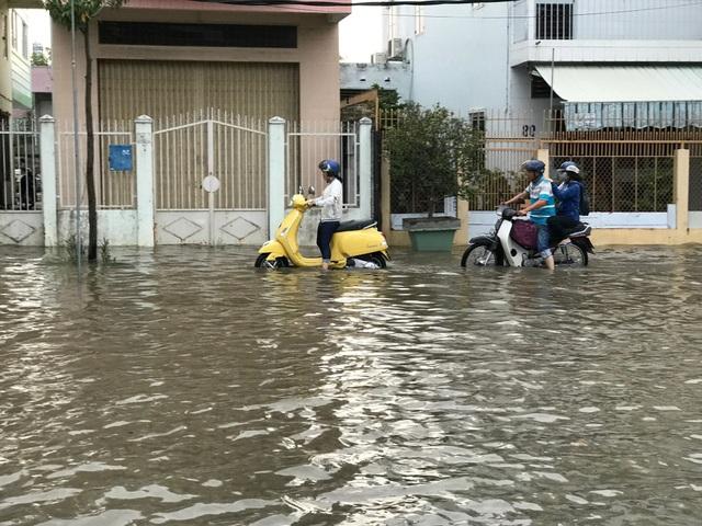 Triều cường dâng cao, đường phố Cần Thơ, Vĩnh Long lênh láng nước - 2