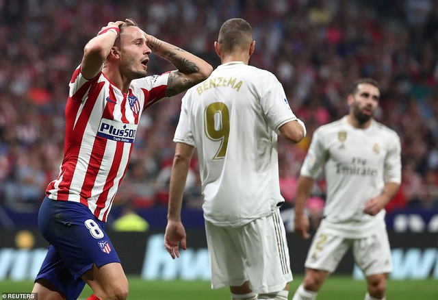 Hòa Atletico, Real Madrid giữ vững ngôi đầu bảng La Liga - 3