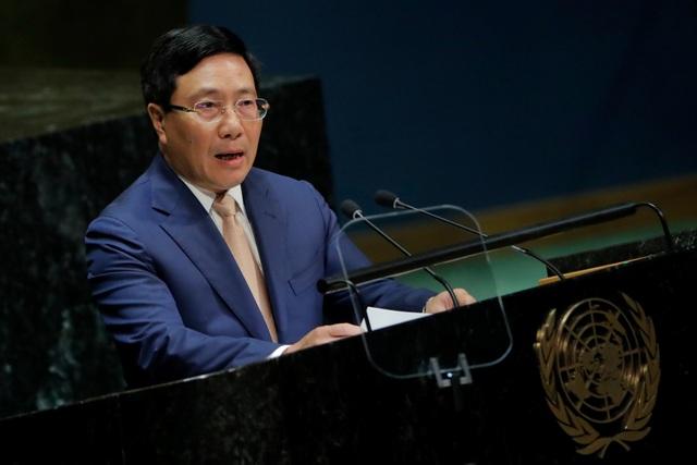 Phó Thủ tướng Phạm Bình Minh nêu vấn đề Biển Đông tại Liên Hợp Quốc - 1