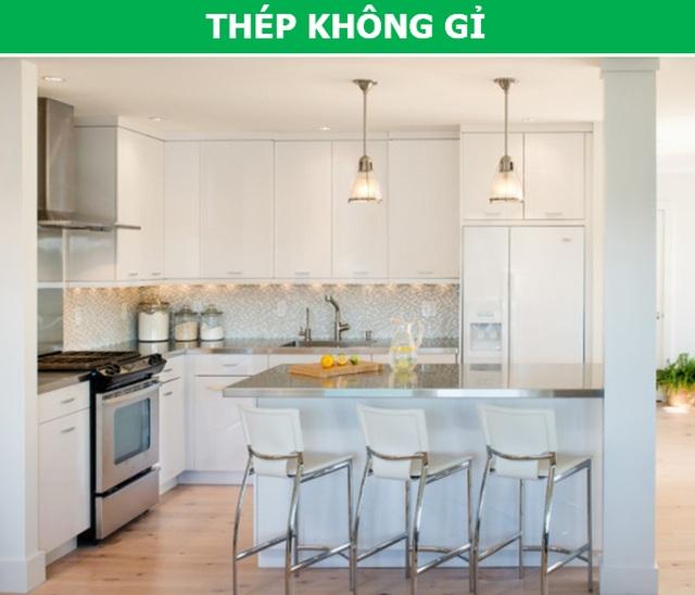 Gợi ý cách lựa chọn vật liệu phù hợp nhất cho mặt bếp nhà bạn - 5