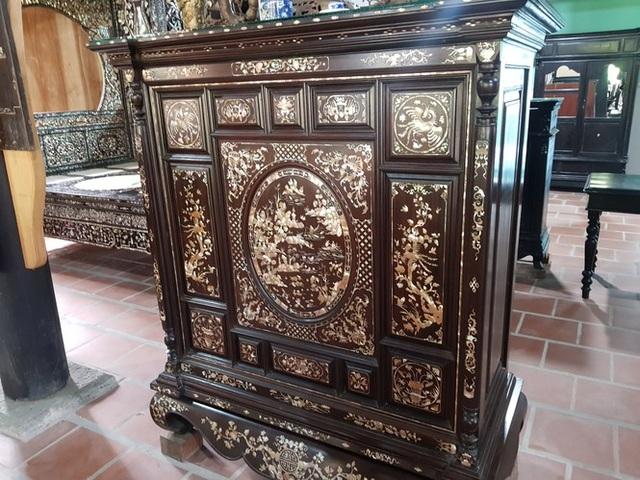 Độc đáo chiếc giường cổ có giá bạc tỷ ở Đồng Tháp - 11
