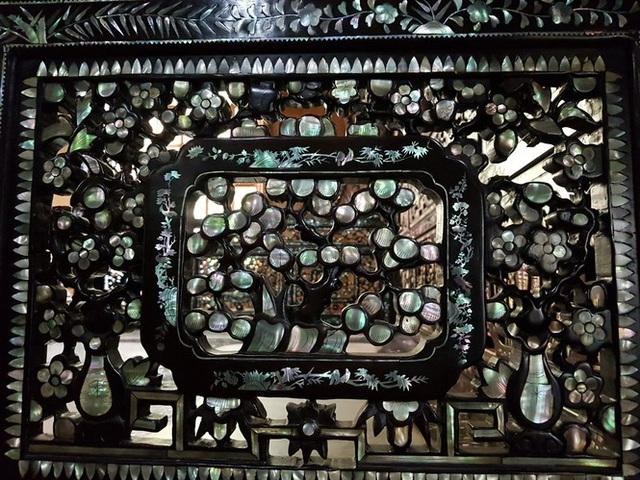 Độc đáo chiếc giường cổ có giá bạc tỷ ở Đồng Tháp - 4