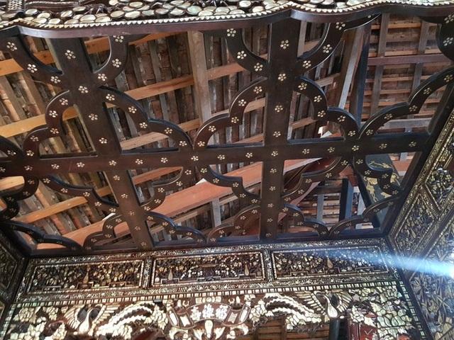 Độc đáo chiếc giường cổ có giá bạc tỷ ở Đồng Tháp - 5