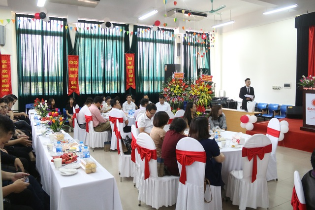 Khoa CNTT Trường ĐH Đại Nam tưng bừng kỷ niệm 10 năm thành lập - 2