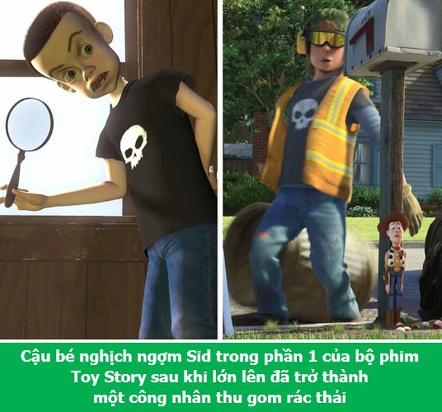 Loạt chi tiết đầy thú vị trong các bộ phim hoạt hình kinh điển  - 9