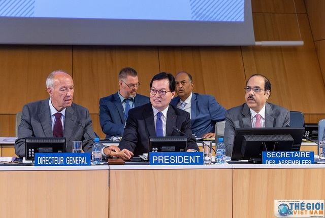 Quốc tế đánh giá cao vai trò của Việt Nam trên cương vị Chủ tịch Đại hội đồng WIPO - 2