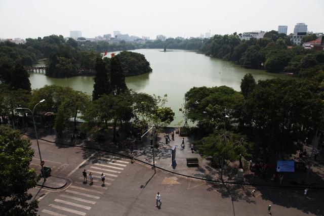Không gian hồ Gươm, phố cổ Hà Nội lên kế hoạch cấm xe hoàn toàn - 1