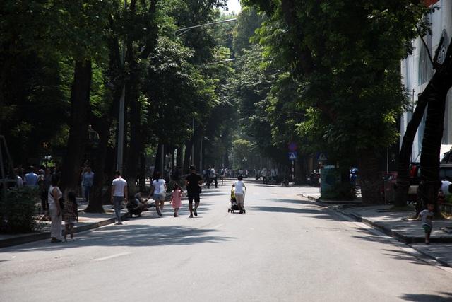 Không gian hồ Gươm, phố cổ Hà Nội lên kế hoạch cấm xe hoàn toàn - 5