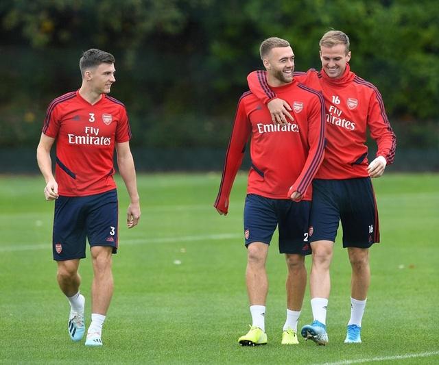 Arsenal tập luyện miệt mài trước đại chiến với Man Utd - 2