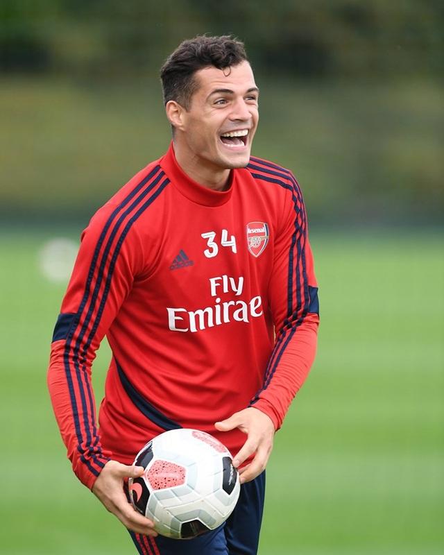 Arsenal tập luyện miệt mài trước đại chiến với Man Utd - 7