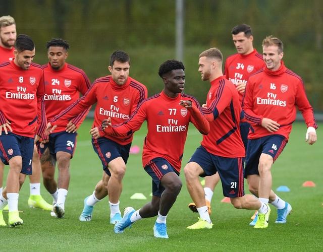 Arsenal tập luyện miệt mài trước đại chiến với Man Utd - 6