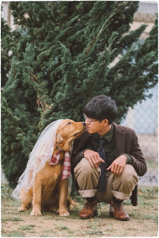 Khi gia đình giục cưới, 9X Sóc Trăng tung bộ ảnh với cún cưng thay câu trả lời - 1