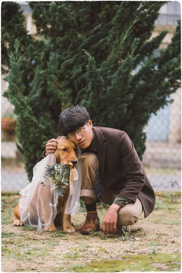 Khi gia đình giục cưới, 9X Sóc Trăng tung bộ ảnh với cún cưng thay câu trả lời - 7