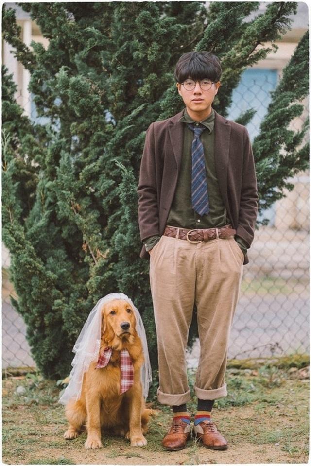 Khi gia đình giục cưới, 9X Sóc Trăng tung bộ ảnh với cún cưng thay câu trả lời - 3