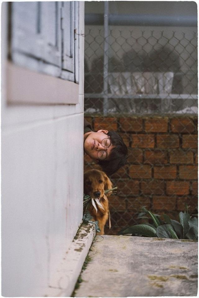 Khi gia đình giục cưới, 9X Sóc Trăng tung bộ ảnh với cún cưng thay câu trả lời - 4
