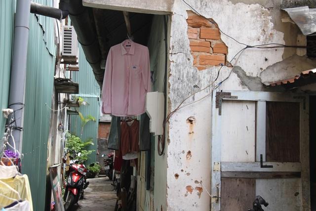 """Đà Nẵng: Những chung cư """"chờ sập"""" giữa lòng thành phố - 2"""