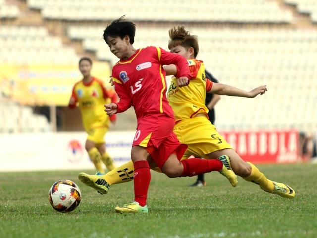 TPHCM sớm vô địch giải bóng đá nữ vô địch quốc gia 2019 - 2