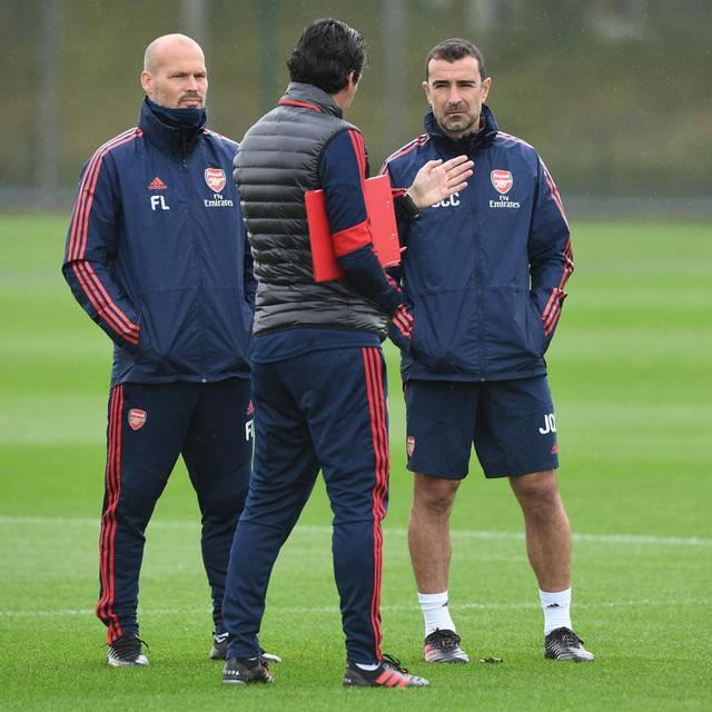 Arsenal tập luyện miệt mài trước đại chiến với Man Utd - 3