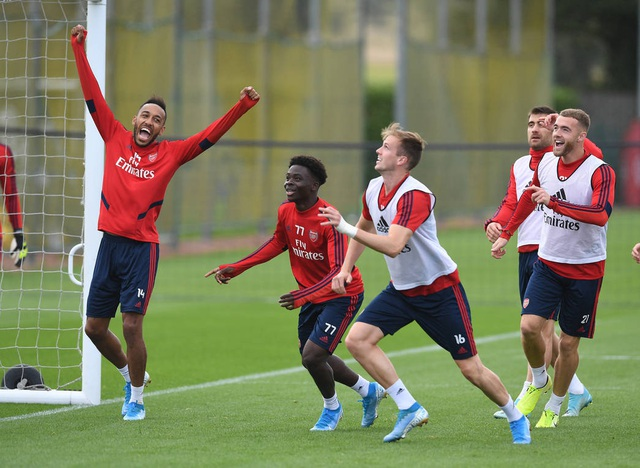 Arsenal tập luyện miệt mài trước đại chiến với Man Utd - 13