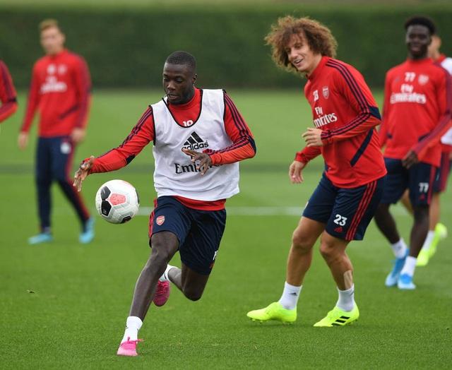 Arsenal tập luyện miệt mài trước đại chiến với Man Utd - 12