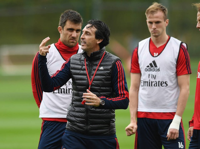 Arsenal tập luyện miệt mài trước đại chiến với Man Utd - 5