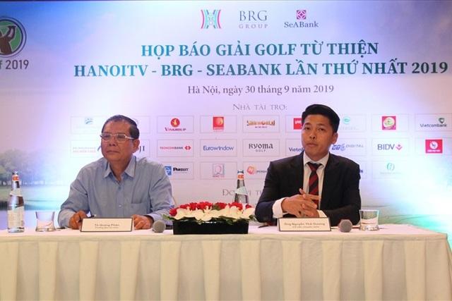 Đài Truyền hình Hà Nội tổ chức giải golf từ thiện HanoiTV- BRG-Seabank - 1