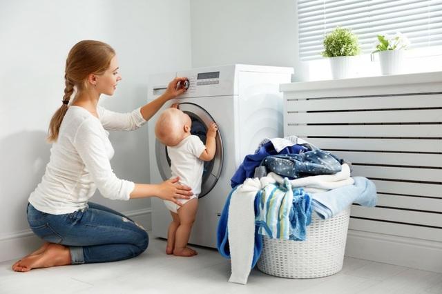 Máy giặt có thể chứa vi khuẩn kháng thuốc - 1