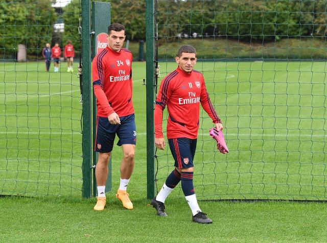 Arsenal tập luyện miệt mài trước đại chiến với Man Utd - 1